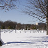 Arlington National Cemetery- Sgt. Christopher Hrbek 2/8/10 : Marine Sgt. Christopher Hrbek was laid to rest on Monday February 8, 2010 with full military honors at Arlington National Cemetery. Over 100 mourners made the trip to Arlington, even after the blizzard in Washington left over 2 feet of snow. The mourners arrived on two buses along with the hearse, escorted by two Westwood police cars, one Wayne police car and one from the Bergen County Sheriff's office. Firefighters from Washington DC and Fairfax paid their respects alongside the Westwood Fire Dept., NYC Fire Dept and local towns.
