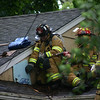 Chris's pictures of 236 Evergreen St- House hit by lightning : 