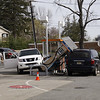 HFD Car into Gas Pumps 60 Broadway 4-14-12 : 
