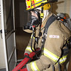 HFD Drill- 102 Highland 6-4-12 : The Hillsdale Fire Dept. drilled on a house that is scheduled to be demolished.